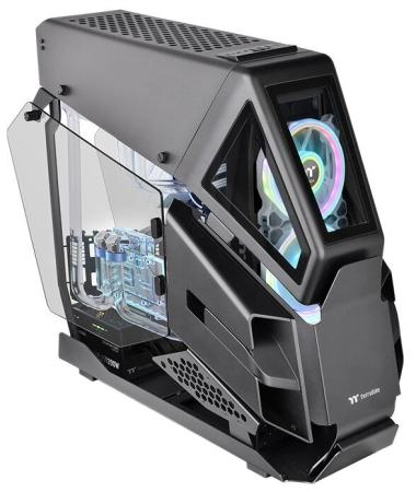 Thermaltake Case AH T600/Black/Win/SPCC/5mm Tempered Glass*2