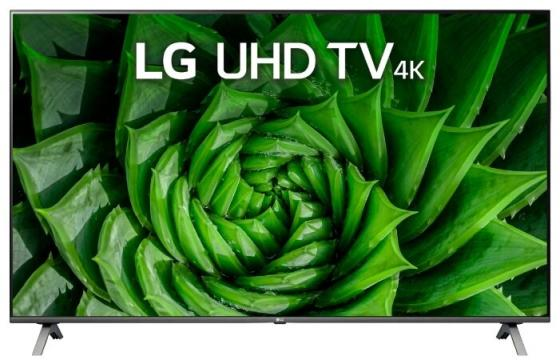 Фото - Телевизор 55 LG 55UN80006LA черный 3840x2160 50 Гц Wi-Fi Smart TV RJ-45 Bluetooth телевизор 55 samsung ue55tu7100uxru черный 3840x2160 100 гц smart tv wi fi rj 45