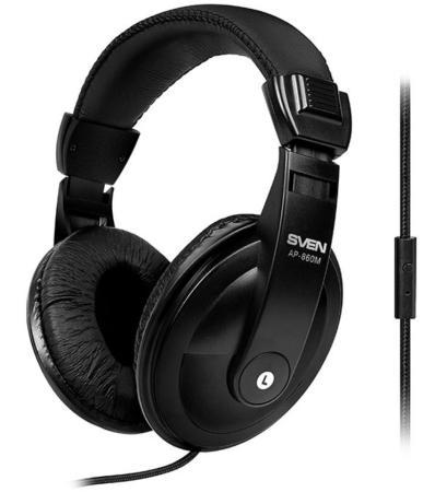 Гарнитура Sven AP-860M черный гарнитура sven ар 860