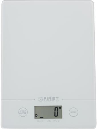 Весы кухонные First FA-6400-WI белый недорого