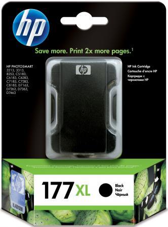 Картридж HP C8719HE №177XL для Photosmart 8253 3313 d7163 d7363 черный hp c8721he 177 black для photosmart 8253 3213 3313