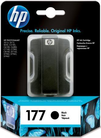 Картридж HP C8721HE №177 для Photosmart 8253 3313 d7363 черный hp photosmart 7450