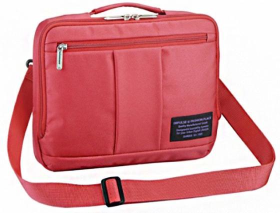 Сумка для ноутбука 10 Sumdex PON-496SC полиэстер красный сумка для ноутбука 10 sumdex pon 340bu синяя