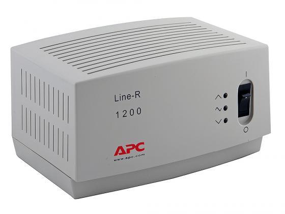 все цены на Стабилизатор напряжения APC Line-R LE1200I 4 розетки 2 м белый онлайн