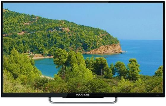 Фото - Телевизор 32 Polarline 32PL13TC-SM черный 1366x768 50 Гц Wi-Fi Smart TV 3 х HDMI 2 х USB SCART RJ-45 CI+ телевизор led 32 samsung ue32t4500auxru черный 1366x768 60 гц smart tv wi fi usb rj 45