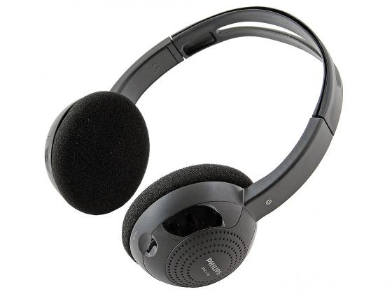 Наушники Philips SHC1300 черный philips shc1300 беспроводные наушники black
