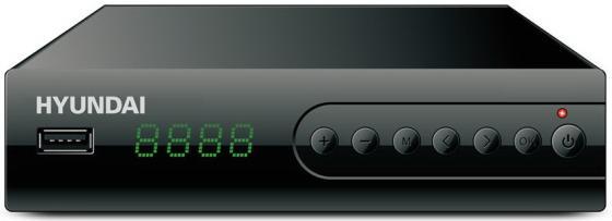 Фото - Ресивер DVB-T2 Hyundai H-DVB560 черный антенна hyundai h tai260