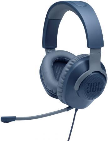 Фото - Игровая гарнитура проводная JBL Quantum 100 синий игровая