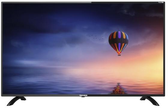 Фото - Телевизор LED 43 Telefunken TF-LED43S45T2S черный 1920x1080 50 Гц Wi-Fi Smart TV RJ-45 VGA S/PDIF SCART телевизор led 43 sony kdl43wf804br черный серебристый 1920x1080 50 гц smart tv wi fi rj 45 bluetooth