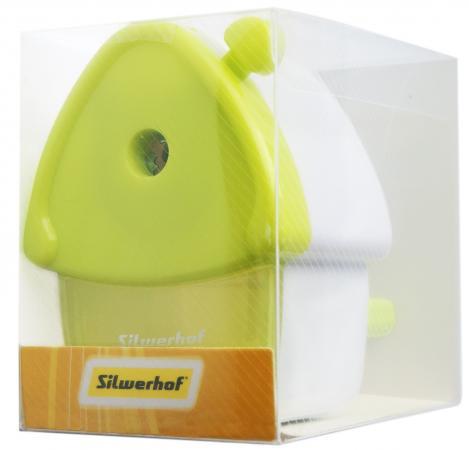 Точилка для карандашей механическая Silwerhof Sweet Home Солнечная коллекция 1 отверстие пластик