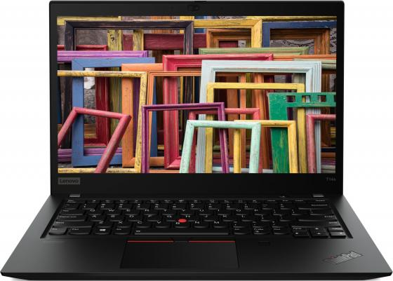 Фото - Ноутбук Lenovo ThinkPad T14s 14 1920x1080 Intel Core i7-10510U 512 Gb 16Gb WiFi (802.11 b/g/n/ac/ax) 4G LTE Intel UHD Graphics черный Windows 10 Professional 20T0001CRT ноутбук lenovo thinkpad e14 iml 14 1920x1080 intel core i7 10510u 1 tb 256 gb 16gb intel uhd graphics черный windows 10 professional 20ra001frt