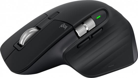 Мышь беспроводная Logitech MX Master 3 чёрный Bluetooth 910-005710