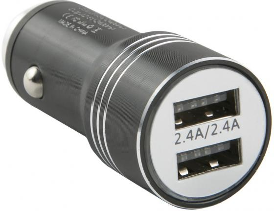 Фото - Автомобильное зарядное устройство Red Line AC-5 2.4А черный УТ000016521 автомобильное зарядное устройство red line ас 13 3 4a черный ут000018142