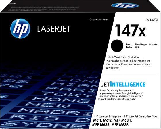 Фото - Картридж HP W1470X для HP LaserJet Enterprise M611 LaserJet Enterprise M612 LaserJet Enterprise MFP M634 LaserJet Enterprise MFP M635 LaserJet Enterprise MFP M636 25200стр Черный hp laserjet enterprise flow mfp m528z