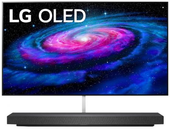 Фото - Телевизор LED 65 LG OLED65WX9LAZ черный 3840x2160 100 Гц Wi-Fi Smart TV 4 х HDMI RJ-45 Bluetooth Оптический выход CI+ телевизор led 65 samsung ue65ru7400ux черный 3840x2160 100 гц wi fi smart tv rj 45 bluetooth