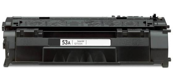 Фото - Картридж HP Q7553A для LaserJet P2014 P2015 M2727 3000стр картридж nv print q7553a для hp laserjet p2014 p2015 m2727mfp черный 3000стр