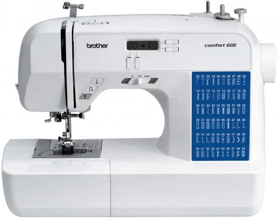 Швейная машина Brother Comfort 60E бело-синий цена