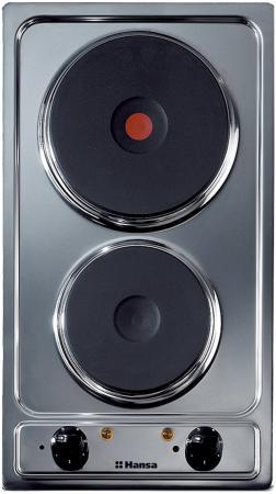 Варочная панель электрическая Hansa BHEI 30130010 серебристый  электрическая варочная панель hansa bhei 30130010 независимая механическое управление нержавеющая сталь серебристый