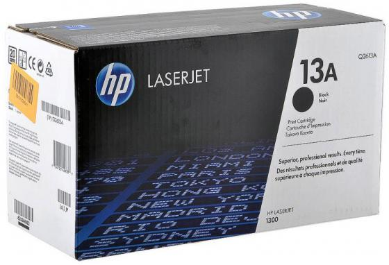 Картридж HP Q2613A для LaserJet 1300 картридж hp pigment ink cartridge 70 black z2100 3100 3200 c9449a
