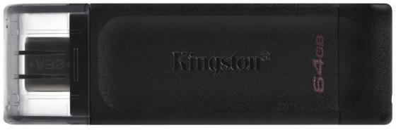 Фото - Флешка 64Gb Kingston DT70/64GB USB 3.0 черный флешка istorage datashur pro2 64gb черный