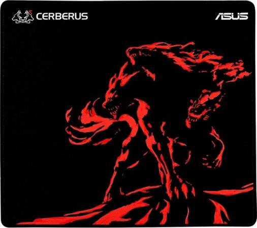 ASUS Cerberus Mini чёрный/красный Игровой коврик для мыши (250 x 210 2 mm, каучук, нетканый матери