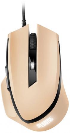 Мышь проводная Sharkoon SHARK Force бежевый USB