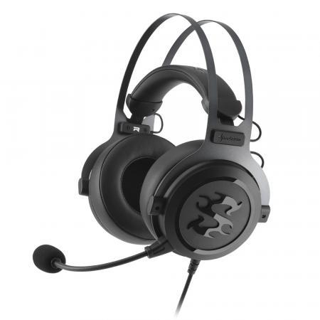 Фото - Игровая гарнитура проводная Sharkoon SGH3 черный игровая