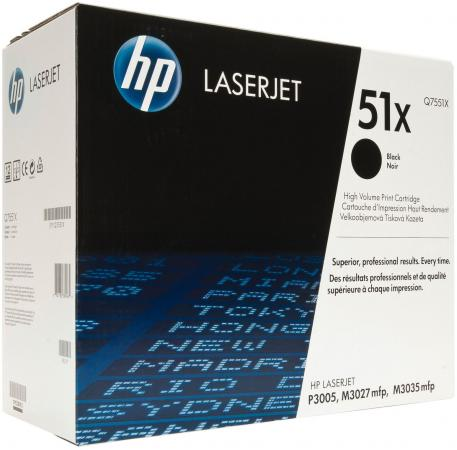 цены Картридж HP Q7551X для LaserJet P3005 M3035MFP M3027MFP