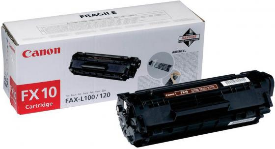 Картридж Canon FX-10 для MF4018 4120 4140 4270 4660PL 4690PL FAX L100 L120 L140 L160 lcl fx9 fx 9 3 pack black toner cartridge compatible for canon fax l 100 l 120 faxphone 120 mf4150 fax l905a i sensys 4120