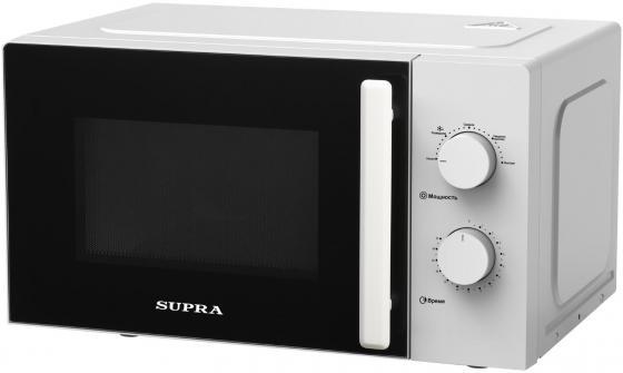 Фото - Микроволновая печь Supra 20MW22 700 Вт белый микроволновая печь supra 20sw25 белый