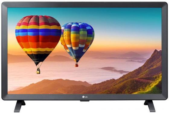 Фото - Телевизор LED LG 24 24TN520S-PZ черный/HD READY/50Hz/DVB-T2/DVB-C/DVB-S/DVB-S2/USB/WiFi/Smart TV (RUS) телевизор lg 28ln515s pz 27 5 2020 серый черный