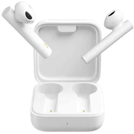 Гарнитура Xiaomi True Wireless Earphones 2 Basic белый BHR4089GL гарнитура xiaomi mi true wireless earphones 2 basic bluetooth вкладыши белый [bhr4089gl]