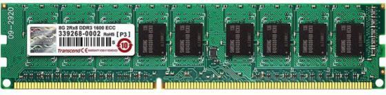 Оперативная память 8Gb (1x8Gb) PC3-12800 1600MHz DDR3L DIMM ECC CL11 Transcend TS1GLK72W6H