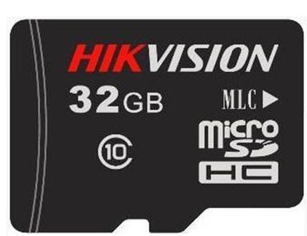 Фото - 32GB Карта памяти MicroSDHC Hikvision L2 д/видеонаблюдения Class 10 UHS-I V10 без адапт. видеорегистратор для видеонаблюдения hikvision hiwatch ds h116g