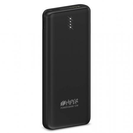 Фото - Внешний аккумулятор HIPER PSL10000 Li-Pol 10000 mAh 2.4A+2.4A 2xUSB 1xType-C черный внешний аккумулятор hiper mpx10000 10000mah серый