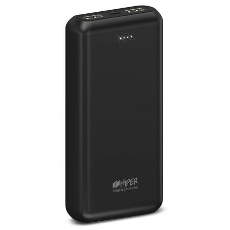 Фото - Внешний аккумулятор HIPER PSL20000 Li-Pol 20000 mAh 2.4A+2.4A 2xUSB 1xType-C черный внешний аккумулятор twist 4000 mah синий