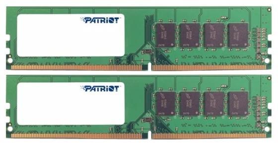 Фото - Оперативная память 8Gb (2x4Gb) PC4-21300 2666MHz DDR4 DIMM CL19 Patriot PSD48G2666K оперативная память 8gb 1x8gb pc4 21300 2666mhz ddr4 dimm cl19 patriot psd48g266681