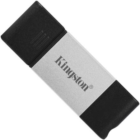 Фото - Флеш Диск Kingston 256Gb DataTraveler DT80 <DT80/256GB>, USB-C 3.2 Gen 1 флеш диск kingston 128gb datatraveler exodia
