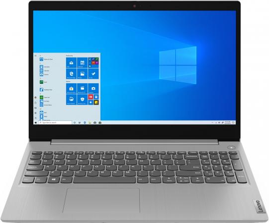 Ноутбук Lenovo IdeaPad 3 15IIL05 15.6 1920x1080 Intel Core i3-1005G1 256 Gb 4Gb Bluetooth 5.0 Intel UHD Graphics серый DOS 81WE007DRK ноутбук lenovo v130 15ikb 15 6 1920x1080 intel core i3 7020u 500 gb 4gb intel uhd graphics 605 серый dos 81hn00epru