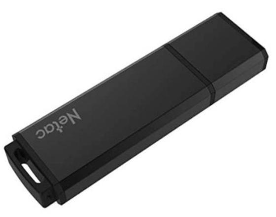 Фото - Флеш Диск Netac U351 32Gb <NT03U351N-032G-20BK>, USB2.0, с колпачком, металлическая чёрная флеш накопитель netac u182 32gb nt03u182n 032g 30re