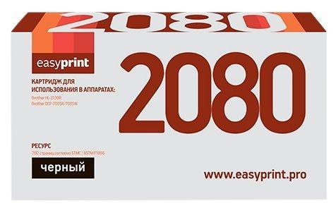 Фото - Картридж EasyPrint LB-2080 для Brother HL-2130R/DCP-7055R (700 стр.) картридж лазерный easyprint lb 2075