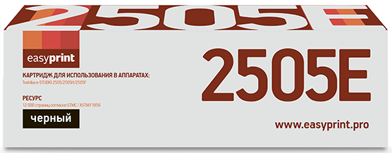 Тонер-картридж EasyPrint LT-2505 для Toshiba e-STUDIO 2505/2505H/2505F (12000 стр.)