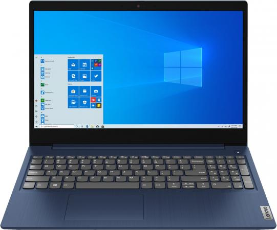 Фото - Ноутбук Lenovo IdeaPad 3 15IIL05 15.6 1920x1080 Intel Core i3-1005G1 256 Gb 8Gb Intel UHD Graphics синий DOS 81WE00KDRK ноутбук lenovo ideapad ip5 15iil05 core i3 1005g1 8gb ssd512gb intel uhd graphics 15 6 ips fhd 1920x1080 windows 10 grey wifi bt cam