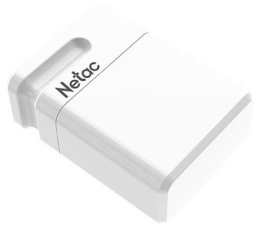 Фото - Флеш Диск Netac U116 64Gb <NT03U116N-064G-30WH>, USB3.0, миниатюрная пластиковая белая флеш диск verbatim 64gb v3 max hi speed синий 49807