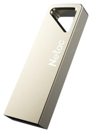 Фото - Флеш Диск Netac U326 64Gb <NT03U326N-064G-20PN>, USB2.0, металлическая плоская флеш диск verbatim 64gb v3 max hi speed синий 49807