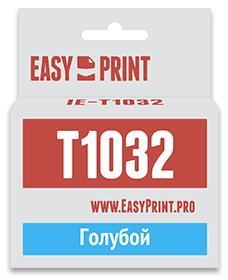 Картридж EasyPrint IE-T1032 для Epson Stylus TX550W/Office T30/T40/T1100/TX510FN/600FW, голубой, с чипом