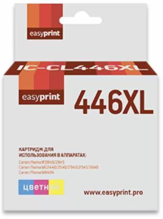Фото - CL-446XL Картридж EasyPrint IC-CL446XL для Canon PIXMA iP2840/2845MG2440/2540/2940/2945/MX494, цветной картридж t2 ic ccl446xl для canon pixma ip2840 2845mg2440 2540 2940 2945 mx494 цветной