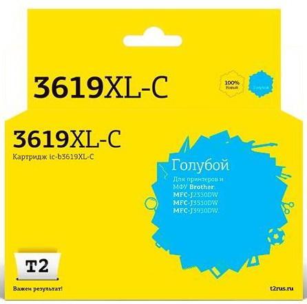 Фото - IC-B3619XL-C Картридж T2 для Brother MFC-J3530DW/J3930DW, голубой, с чипом картридж brother lc3617bk для brother mfc j3530dw j3930dw черный 550стр