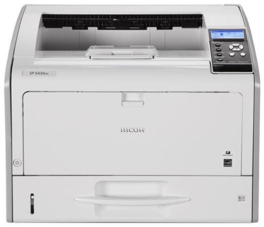 Фото - Светодиодный принтер SP 6430DN принтер лазерный ricoh sp 6430dn светодиодный цвет серый [407484]