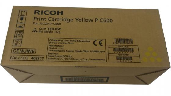 Тонер тип P C600 желтый